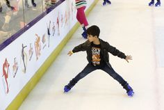 Skating is an art, come and show this art to us at #Sharjah's only Ice Skating Rink.