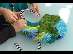 ✿ ❤ 4x4 Pratik Çanta Yapımı (örgüden yapıdığı gibi kumaştan veya başka şeylerlede yapılabilir) - Derya'nın Dünyası - 5 Ocak 2015