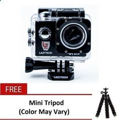 Buy Lazytech 4K WiFi Action Pro 16MP Sports Camera (Black) withMiniTripod (color may vary) online at Lazada. Discount prices and promotional sale on all. Free Shipping.
