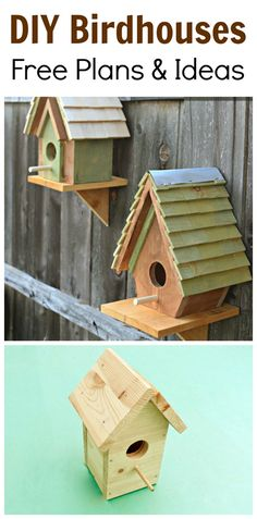 DIY Birdhouses Free Plans And Ideas