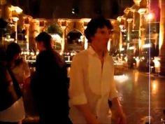 "Benedict Cumberbatch doing a terrible, terrible -yet thoroughly hilarious- dance to ""thriller"". enjoy!"