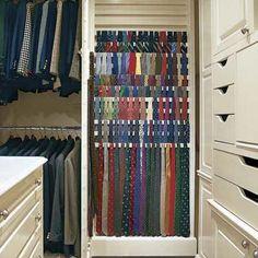 About Tie Rack On Pinterest Organize Ties Tie Storage And Closet