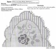 Modelos De Tapetes De Croche | ... Farineli Arte em Barbante: Tapete de croche em barbante oval para sala