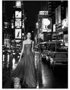 Rosa Clará 2013: Vestido largo asimétrico