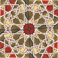 ASK 5434 Portuguese Islamic Cuenca Tiles