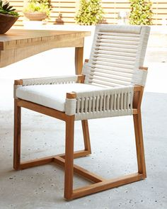 Shop San Martin Teak Outdoor Dining Furniture from Palecek at Horchow, where you'll find new lower shipping on hundreds of home furnishings and gifts. Classic Furniture, Unique Furniture, Rustic Furniture, Furniture Sets, Home Furniture, Furniture Design, Furniture Dolly, Furniture Outlet, Furniture Stores