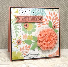 Sweet Sorbet Birthday by cindybstampin - Cards and Paper Crafts at Splitcoaststampers