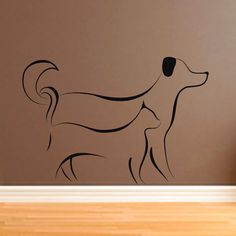Friends Forever ...Cat And Dog Wall Sticker Decal