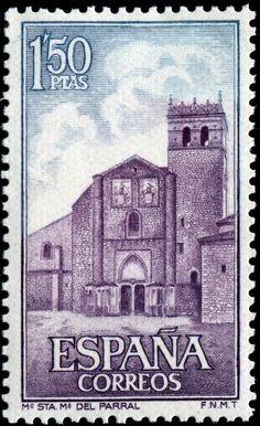Monasterio Santa Maria del Parral (Segovia)-1968