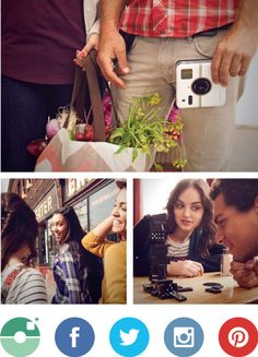 Polaroid Socialmatic Camera: Coming soon, this camera allows you to instantly share AND print photos. #TheSocialMediaStrategist #OliveNecessities
