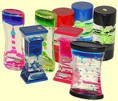 Liquid Timers! Me fascinaba estos relojes liquidos, me perdía en psycodelia de sus colores.