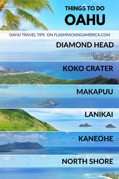 Hawaii vacation ideas with travel tips for Oahu. best things to do in hawaii. oahu hikes with ocean views. day trip from waikiki, honol Hawaii Honeymoon, Hawaii Travel, Beach Travel, Hawaii Trips, Oahu Vacation, Vacation Ideas, Oahu Beaches, Best Beaches In Honolulu, Hawaii Things To Do