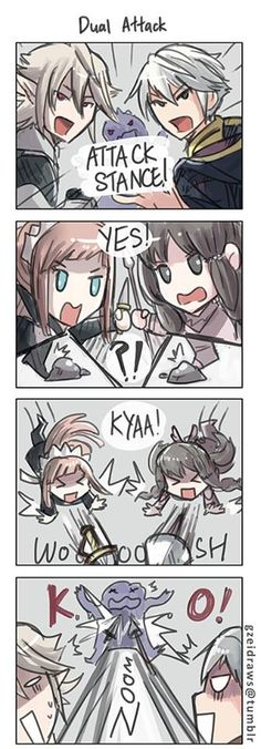 FE: Fates & A - oh dear! Well, at least the enemy was defeated!