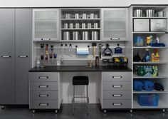 Organized Garage Work And Storage Transform The Art Of Custom Transformhome