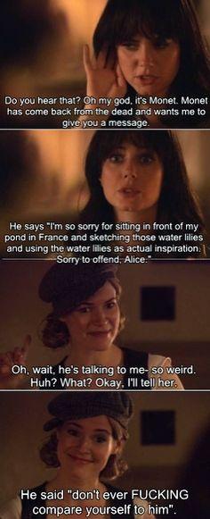 The L Word hahahaa love Alice n jenny