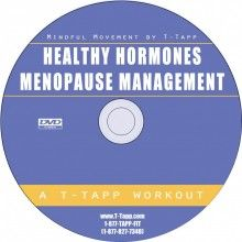 Mindful Movement for Healthy Hormones, Thyroid and Menopause Management Workout DVD - T-Tapp.com