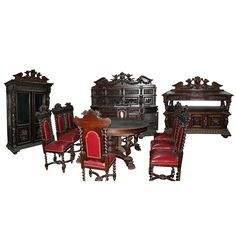 victorian dining sets - Google Search
