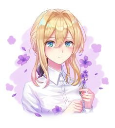 Safebooru is a anime and manga picture search engine, images are being updated hourly. Manga Kawaii, Kawaii Anime Girl, Anime Art Girl, Manga Anime, Anime Girls, Violet Evergreen, Violet Evergarden Anime, Character Art, Character Design