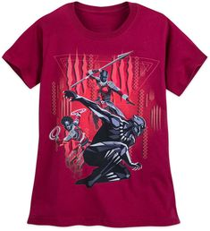 Black Panther T-Shirt for Women - Red #ad