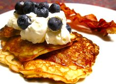 We sat at breakfast at the Crepevine in SF and when they set down the plate of Swedish oatmeal pancakes in front of Larry, I knew I had to track down a recipe to duplicate them. These are a close …