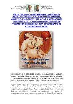 ABC da Obesidade by VAN DER HAAGEN via slideshare