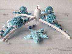 Amigurumi Patterns, Knitting Patterns, Crochet Patterns, Häkelanleitung Baby, Baby Kids, Crochet Baby Toys, Free Crochet, Baby Mobile, Eco Friendly Toys