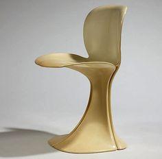 Pierre Paulin, Boro Chair, - Fluid Lines on Modern Clean chair Design Furniture, Unique Furniture, Chair Design, Vintage Furniture, Dream Furniture, Art Furniture, Look Vintage, Retro Vintage, Mid Century Chair