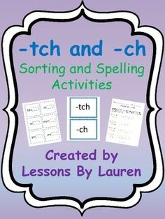 Worksheets List Of Words With Tch have your students practice spelling words with ck and k tch ch these are great