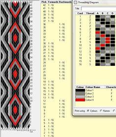 16 tarjetas, 4 colores, alterna 6F-6B // sec_183༺❁