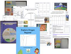 Oregon teachers and homeschoolers...I am very excited to announce that my new unit, Explore Oregon Regions, is finished! In this unit, 3rd-6th grade students learn about four regions of Oregon (Coastal, Cascades, Willamette Valley, Eastern) and consider how location influenced the lives of Native Americans. Activities use art, music, reading, speaking, and writing to bring information to life.