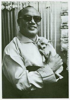 16th Karmapa and a chihuahua