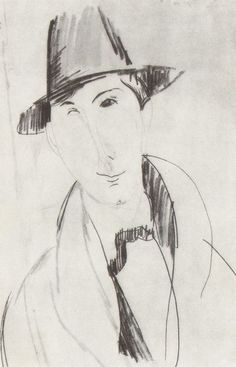 modigliani drawings | Музей рисунка - Amedeo Modigliani (1884 – 1920)