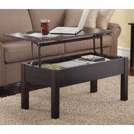 Home Coffee Table Furniture Narrow Coffee Table Lift Top