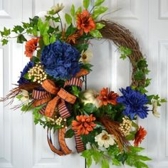 Great Auburn wreath for this Fall