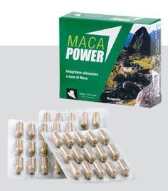 MACA POWER aumenta l'energia e la resistenza atletica. MACA POWER raises your energy and improves your sports performances