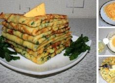 Die besten herzhaften Pfannkuchen mit Knoblauch, Käse und Kräutern Cheese pancakes – a popular yet very simple recipe for all pancake lovers. Not only the sweet varieties are delicious! You must try this garlic pancake with herbs and cheese! Cheese Pancakes, Savory Pancakes, Homemade Pancakes, Slovak Recipes, Czech Recipes, Best Pancake Recipe, Vegetable Soup Healthy, Food Inspiration, Breakfast Recipes