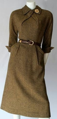 Dress, Pat Hartley, 1950's.
