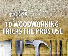 Staying on top of any woodworking project is a balance of hard work and little tips learned from previous projects. This Instructable is here to help you with the...