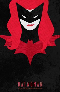 Batwoman--the perfect mix of my favorite super hero and my hair color :)