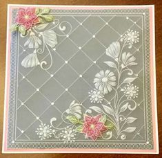 Made by Maxine Truemner Vellum Papier, Clarity Card, Vellum Crafts, Umbrella Cards, Parchment Design, Tattered Lace Cards, Parchment Cards, Embossed Cards, Cardboard Crafts
