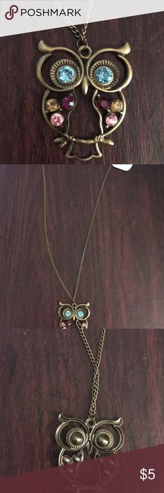 New Owl 🦉 Long Necklace New Owl Long Necklace Jewelry Necklaces
