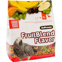 ZuPreem FruitBlend Med/Lrg - Complete Food for Parrots was £19.99, now £16.99, saving you 15% for #AfricanGreyDay only.
