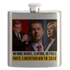 Libertarian Flask for 2016 Election!