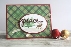 Greetings from Santa with Stitched Shapes Framelits ~ Amy O'Neill