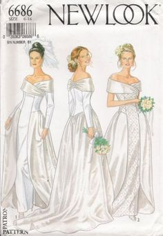 Remember that shopping for patterns for your bridal dress is not the same thing as trying on a pre-made wedding dress. Description from theweddingspecialists.net. I searched for this on bing.com/images