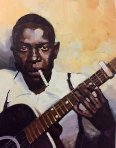 Robert Johnson by Gregory Manchess