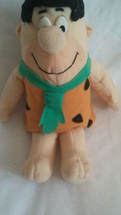 Fred-Flintstone-Plush-Toy-10-inches-Hanna-Barbera-Comic-Character