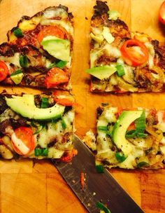 Cauliflower Pizza Base #banting