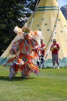 Canadian Native Dancers - DSC_0589 by cliffordjol, via Flickr