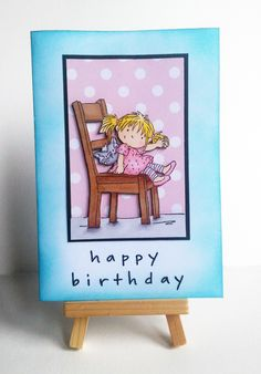Carte Happy Birthday - Lili of the Valley (Scrapboocrys)
